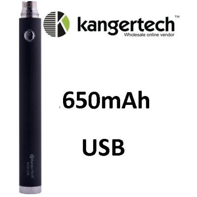 Kangertech EVOD baterie s USB 650 mAh Black