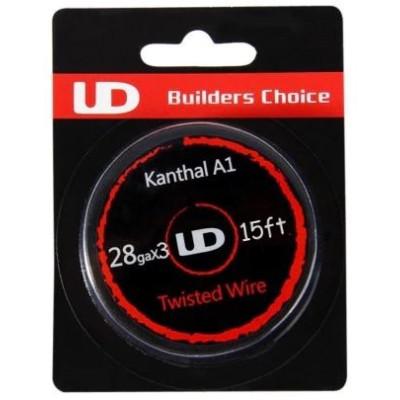 UD Kanthal Triple Twisted odporový drát 28GA x 3 - 5 m
