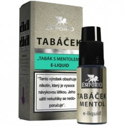Liquid EMPORIO Tobacco - Menthol 10ml - 15mg
