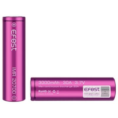 Efest baterie typ 20700 3000 mAh 30A