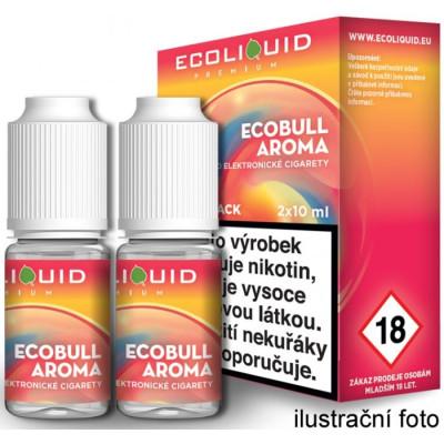 Liquid Ecoliquid Premium 2Pack Ecobull 2x10 ml - 20 mg
