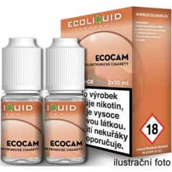 Liquid Ecoliquid Premium 2Pack ECOCAM 2x10 ml - 18 mg