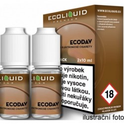 Liquid Ecoliquid Premium 2Pack ECODAV 2x10 ml - 00 mg