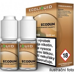 Liquid Ecoliquid Premium 2Pack ECODUN 2x10 ml - 18 mg