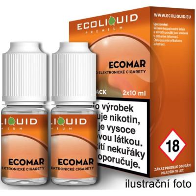 Liquid Ecoliquid Premium 2Pack ECOMAR 2x10 ml - 06 mg