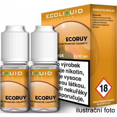 Liquid Ecoliquid Premium 2Pack ECORUY 2x10 ml - 06 mg
