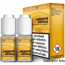 Liquid Ecoliquid Premium 2Pack Honey 2x10 ml - 18 mg (Med)