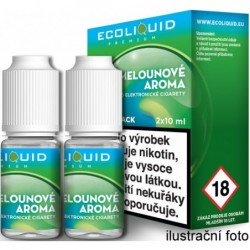 Liquid Ecoliquid Premium 2Pack ICE Melon 2x10 ml - 18 mg (Svěží meloun)
