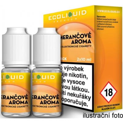 Liquid Ecoliquid Premium 2Pack Orange 2x10 ml - 20 mg