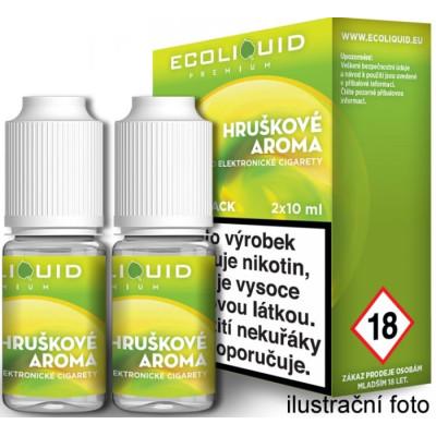 Liquid Ecoliquid Premium 2Pack Pear 2x10 ml - 03 mg