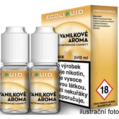 Liquid Ecoliquid Premium 2Pack Vanilla 2x10 ml - 20 mg