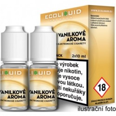 Liquid Ecoliquid Premium 2Pack Vanilla 2x10 ml - 03 mg