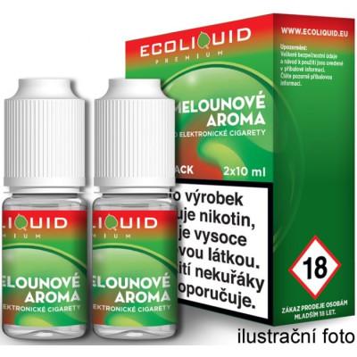 Liquid Ecoliquid Premium 2Pack Watermelon 2x10 ml - 3 mg