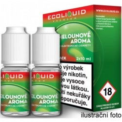 Liquid Ecoliquid Premium 2Pack Watermelon 2x10 ml - 06 mg