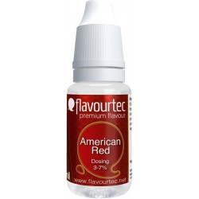 Příchuť Flavourtec American Red 10 ml (Americký tabák)
