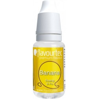 Příchuť Flavourtec Banana 10 ml (Banán)