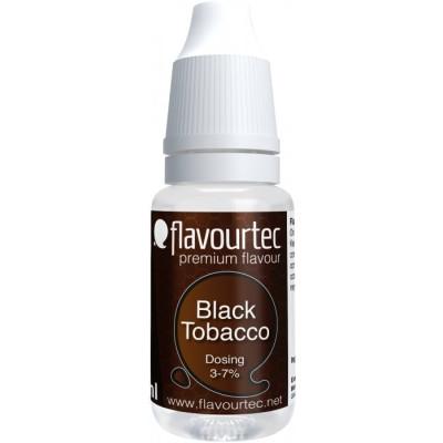 Příchuť Flavourtec Black Tobacco 10 ml (Černý tabák)