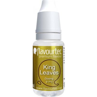 Příchuť Flavourtec King Leaves 10 ml (Královský tabák)