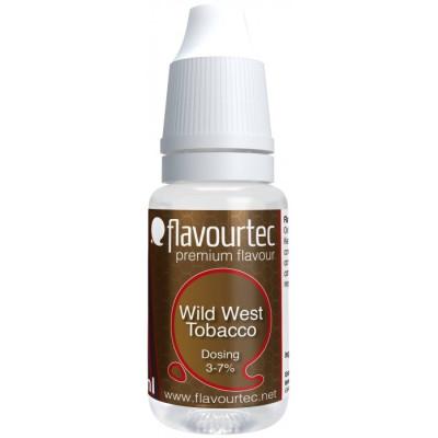 Příchuť Flavourtec Wild West Tobacco 10 ml (Klasický Americký tabák)