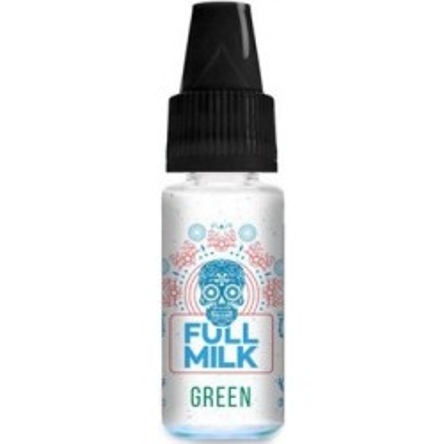 Příchuť Full Milk 10 ml Green (Ananas s citrónem a limetkou)