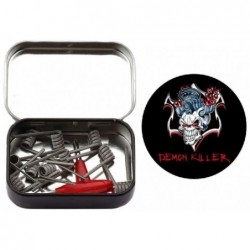 Demon Killer Staple Stagge Red Fused Clapton spirálky KA1+SS316L - 0,3 ohm