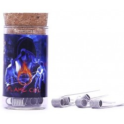 Demon Killer Flame Coil předmotané spirálky SS316L - 0,5 ohm - Typ C