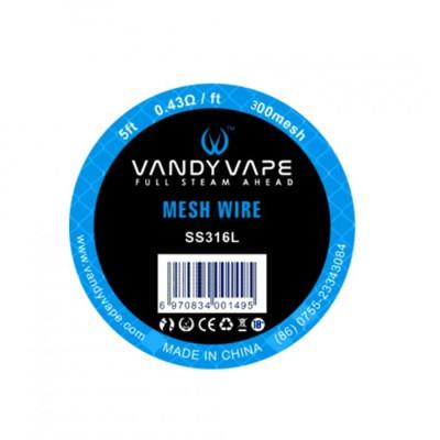Vandy Vape Mesh SS316L - 1,67 m