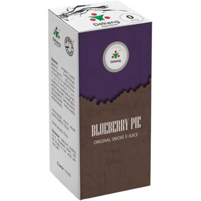 Liquid Dekang Blueberry Pie 10 ml - 00 mg (Borůvkový koláč)