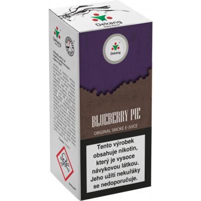 Liquid Dekang Blueberry Pie 10 ml - 11 mg (Borůvkový koláč)