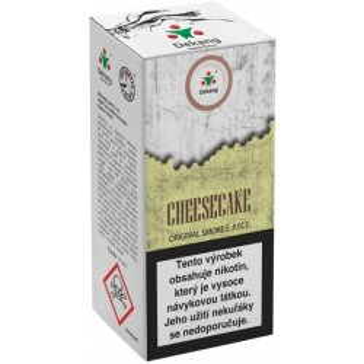 Liquid Dekang Cheesecake 10 ml - 11 mg (Tvarohový koláč)