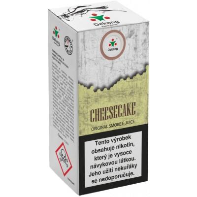 Liquid Dekang Cheesecake 10 ml - 18 mg (Tvarohový koláč)