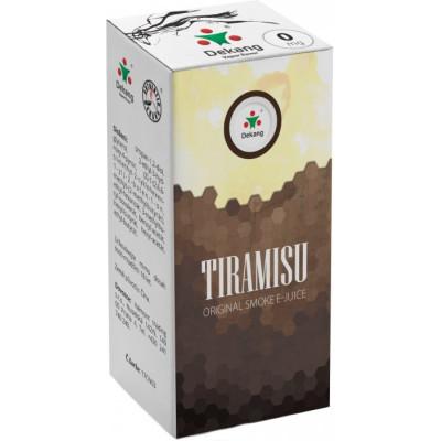 Liquid Dekang Tiramisu 10 ml - 00 mg (Tradiční italský dezert)