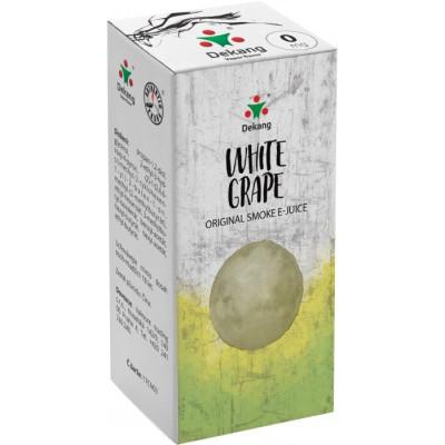 Liquid Dekang White Grape 10 ml - 00 mg (Hroznové bílé víno)