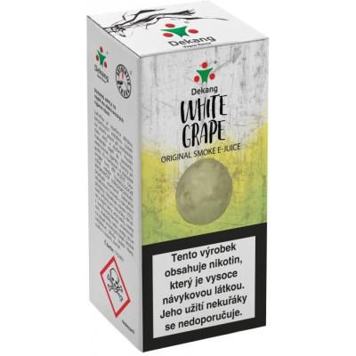 Liquid Dekang White Grape 10 ml - 11 mg