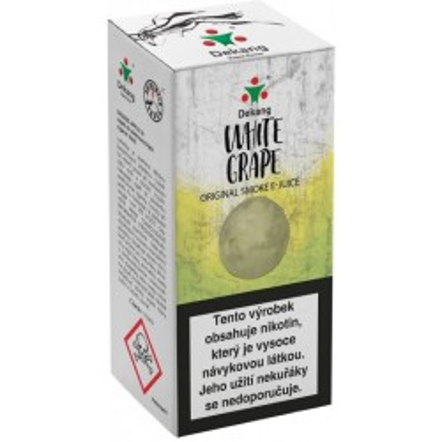 Liquid Dekang White Grape 10 ml - 18 mg (Hroznové bílé víno)
