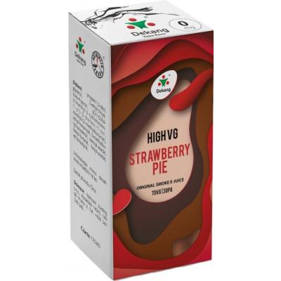 Liquid Dekang High VG Strawberry Pie 10 ml - 0 mg