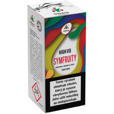 Liquid Dekang High VG Symfruity 10 ml - 6 mg