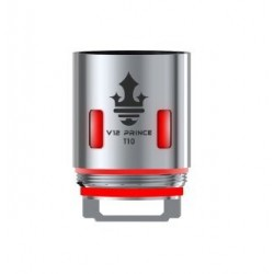 Smoktech TFV12 Prince V12 Prince - T10 žhavící hlava 0,12 ohm Red Light