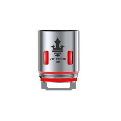 Smoktech TFV12 Prince V12 Prince - T10 žhavící hlava 0,12 ohm Red Light
