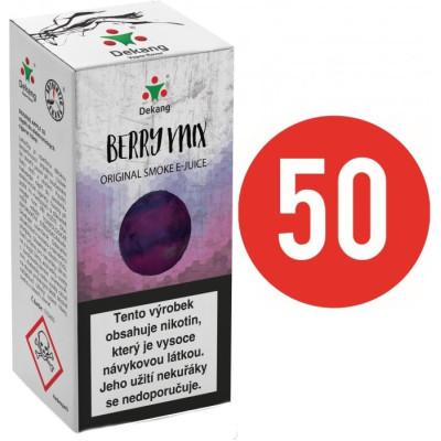 Liquid Dekang Fifty Berry Mix 10 ml - 06 mg (Lesní Plody)