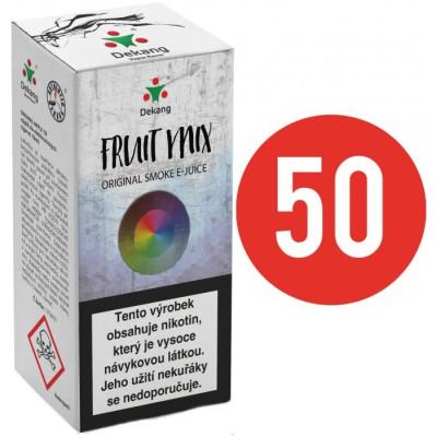 Liquid Dekang Fifty Fruit Mix 10 ml - 06 mg (Ovocný mix)