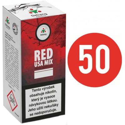 Liquid Dekang Fifty Red USA Mix 10 ml - 11 mg