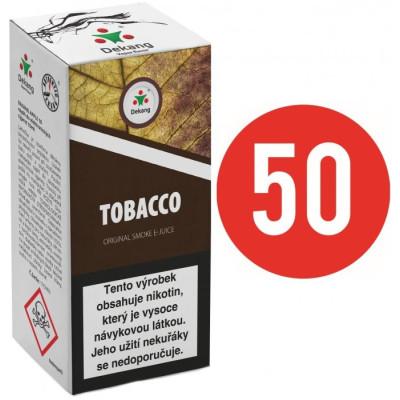 Liquid Dekang Fifty Tobacco 10 ml - 11 mg (Tabák)