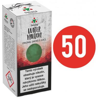 Liquid Dekang Fifty Watermelon 10 ml - 18 mg (Vodní meloun)