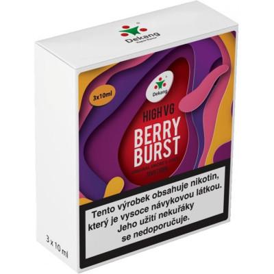Liquid Dekang High VG 3Pack Berry Burst 3x10 ml - 1,5 mg