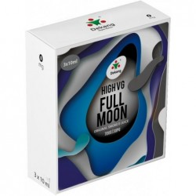 Liquid Dekang High VG 3Pack Full Moon 3x10 ml - 00 mg