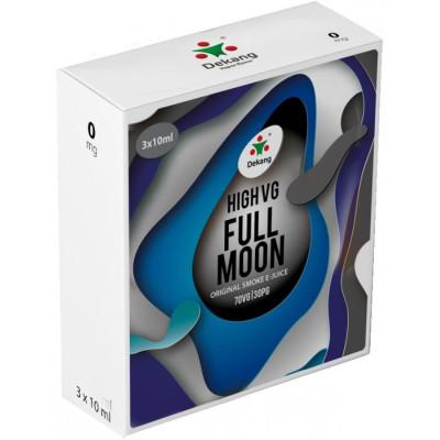 Liquid Dekang High VG 3Pack Full Moon 3x10ml - 0mg