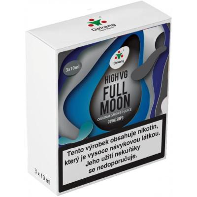 Liquid Dekang High VG 3Pack Full Moon 3x10 ml - 1,5 mg