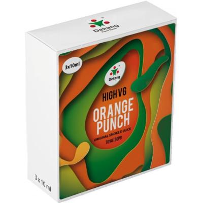 Liquid Dekang High VG 3Pack Orange Punch 3x100ml - 00 mg