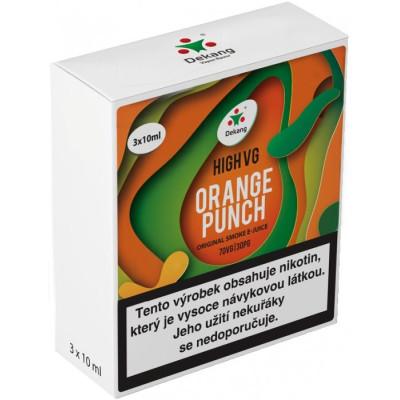 Liquid Dekang High VG 3Pack Orange Punch 3x10 ml - 1,5 mg